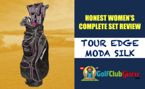 honest review of tour edge moda silk golf club set ladies