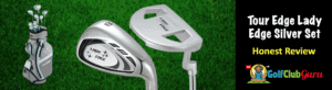 tour edge lady edge irons putter complete set