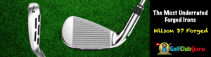 wilson d7 forged sole power holes club face