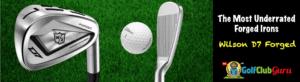 wilson d7 iron set review honest golfer handicap