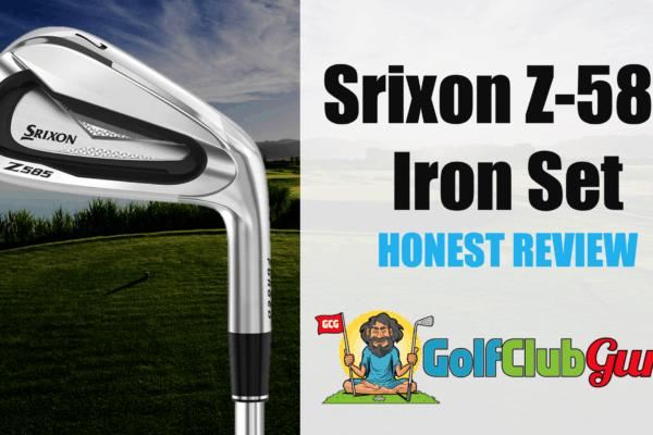 honest review of srixon z-585 irons