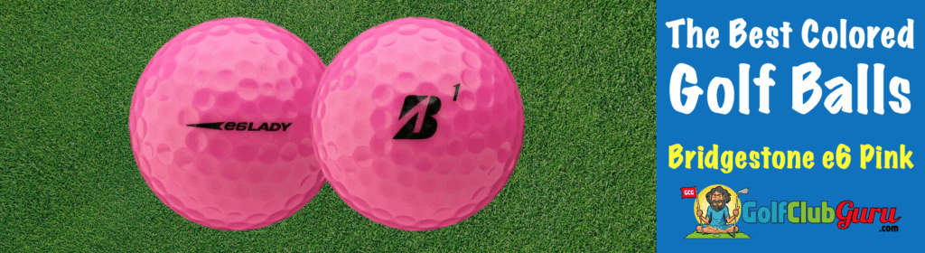 the best pink golf ball for women ladies females seniors
