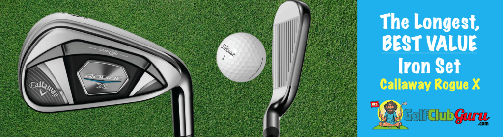 the longest highest launching lowest spin irons on the market