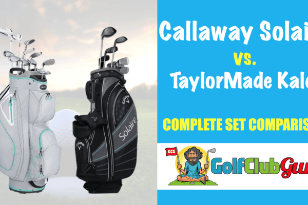 callaway solaire vs taylormade kalea difference comparison