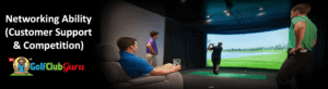competition for golf simulators among friends
