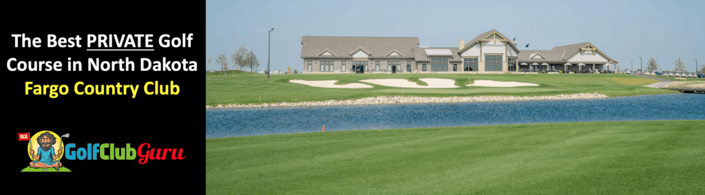the most expensive private golf club in north dakota