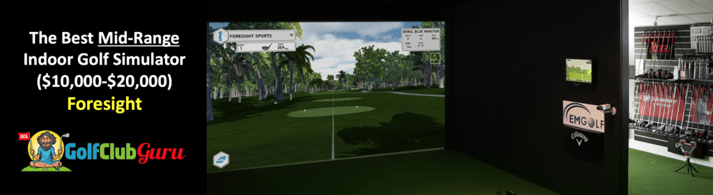 the best golf simulator 10000 20000 foresight review
