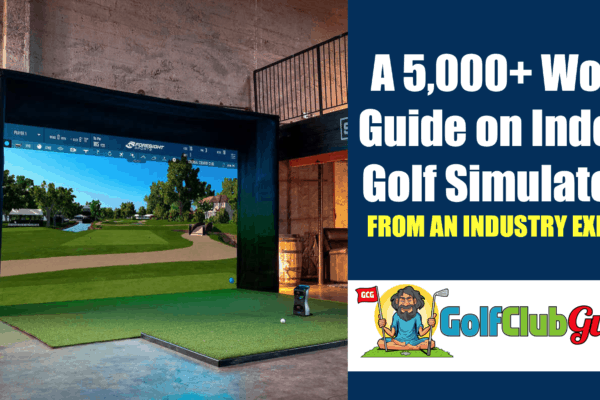 comprehensive guide to indoor golf simulators from industry expert