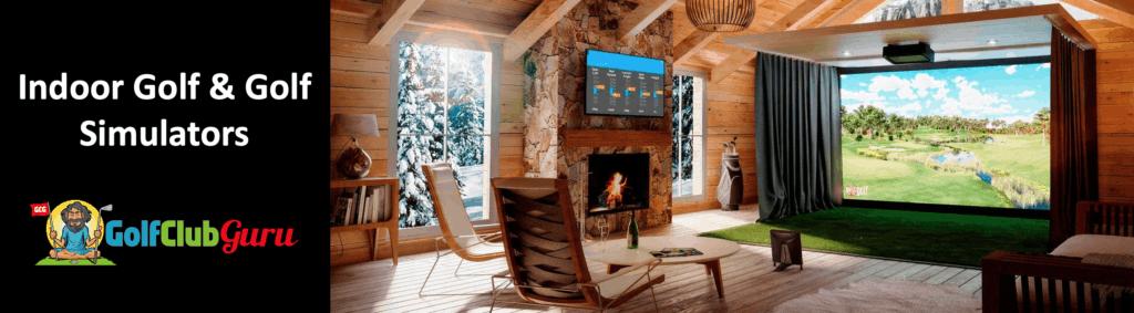 the best indoor golf simulators