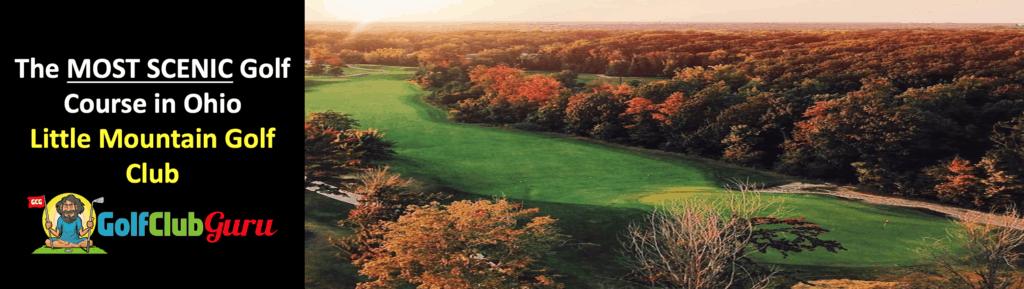 the most scenic beautiful golf course in concord ohio
