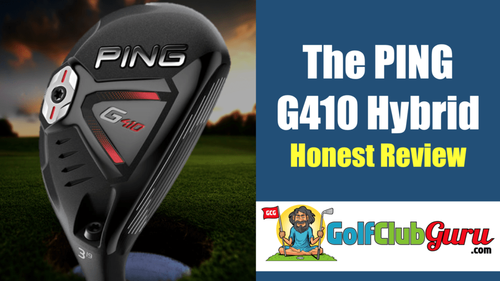 ping g410 hybrid review super forgiving high launching