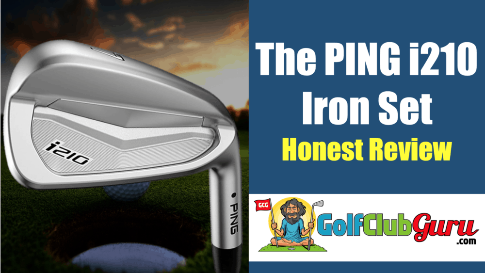 ping i210 irons forgiving longest cast forged irons