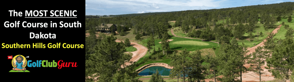 southern hills golf course the most scenic beautiful golf course in south dakota