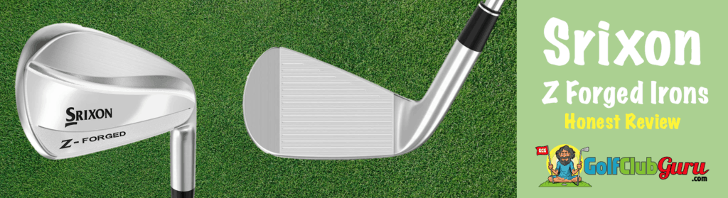 srixon z forged blade irons review