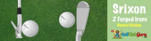 srixon z forged irons at address impact sole