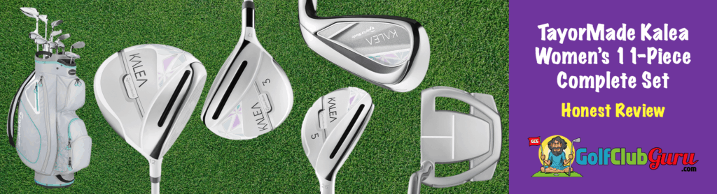 the most forgiving complete set for women taylormade kalea 11 piece