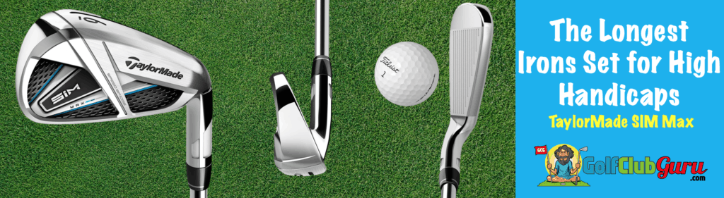 the longest iron sets for mid to high handicaps slow swing speeds