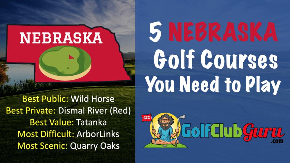 the best public golf courses in nebraska