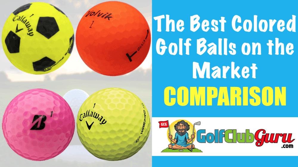 the easiest golf balls to see and find
