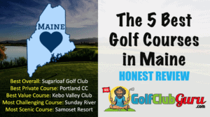 the nicest golf courses in maine