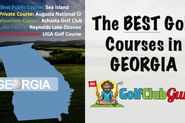 the category winning golf courses in Georgia GA