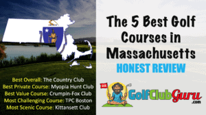 the category winning golf courses in state of Massachusetts