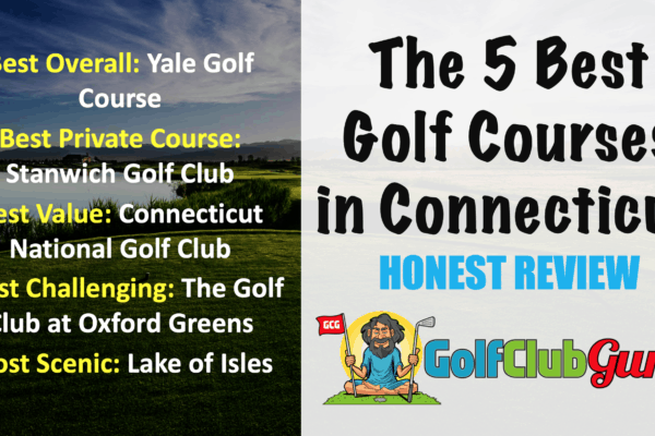 the best golf courses in connecticut by category