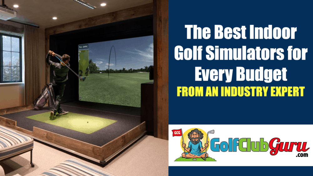 the best golf sim simulation for every budget
