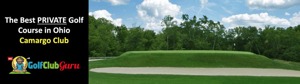the nicest private golf course in ohio camargo club cincinatti