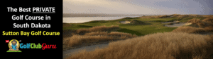 the nicest private golf country club in south dakota sutton bay golf course review