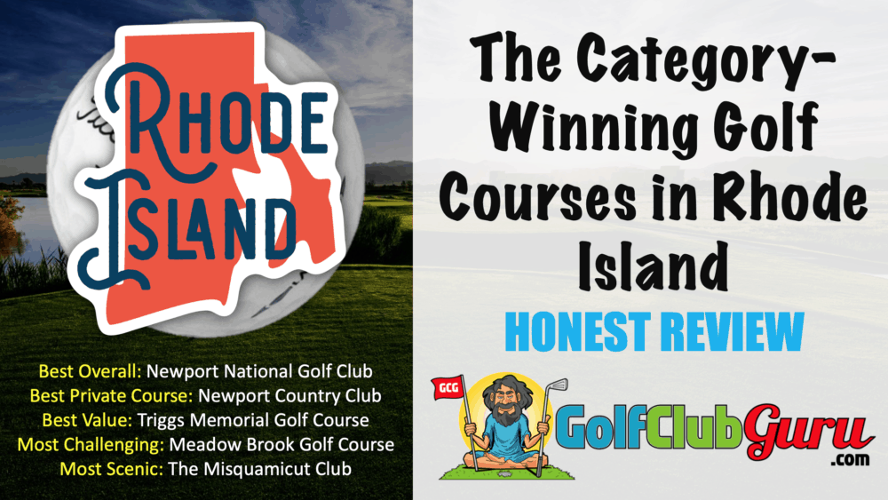the nicest golf courses to play in rhode island