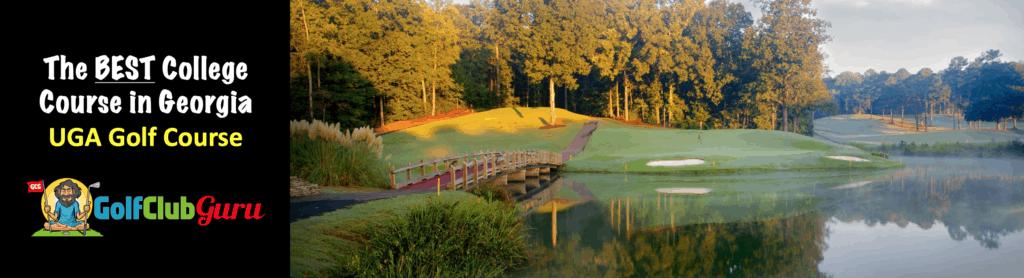 beautiful golf course in athens GA
