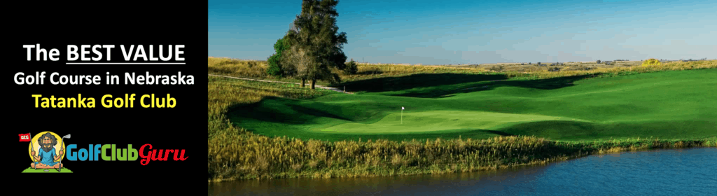 the best bargain budget value golf course in the state of niobrara nebraska Tatanka