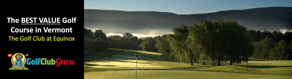 the golf club at equinox course review best golf in vermont