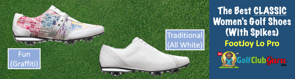 the best womens golf shoes footjoy lopro white golf shoes review with spikes