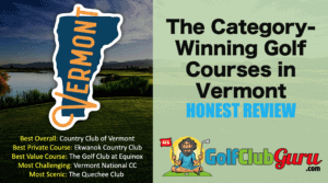 the best golf courses in vermont