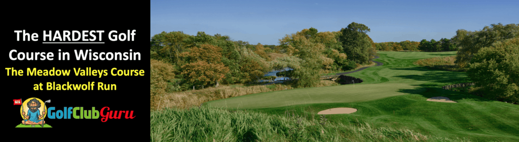 the tighest longest golf course in wisconsin