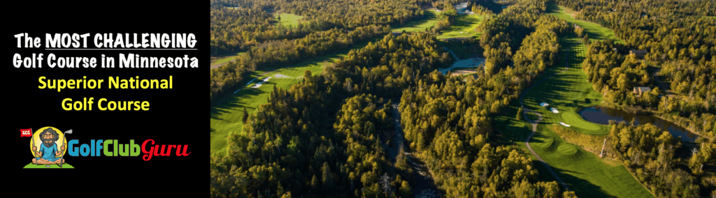 superior national golf course review hardest golf course in lutsen minnesota
