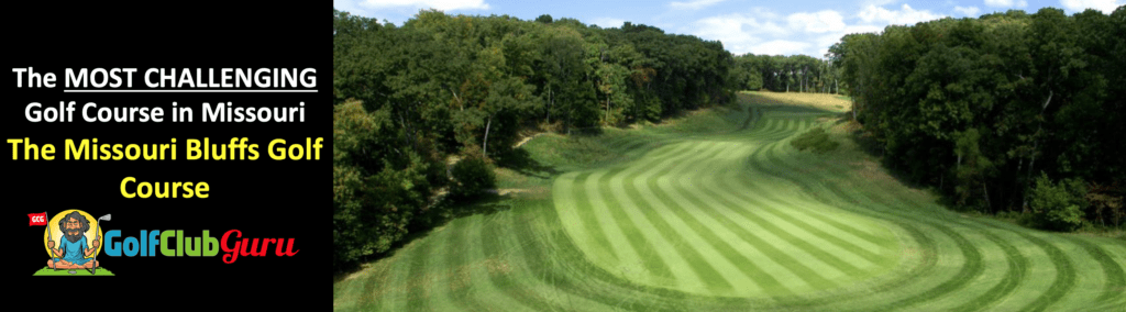 the hardest longest narrowest golf course in missouri saint charles