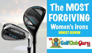 the highest launching easiest to hit irons for women ladies