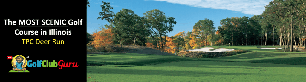 the most beautiful scenic golf course in illinois