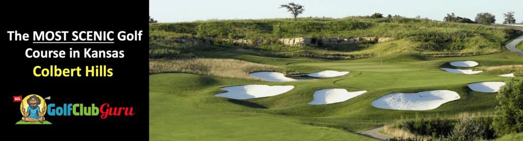the most beautiful golf course in manhattan kansas colbert hills