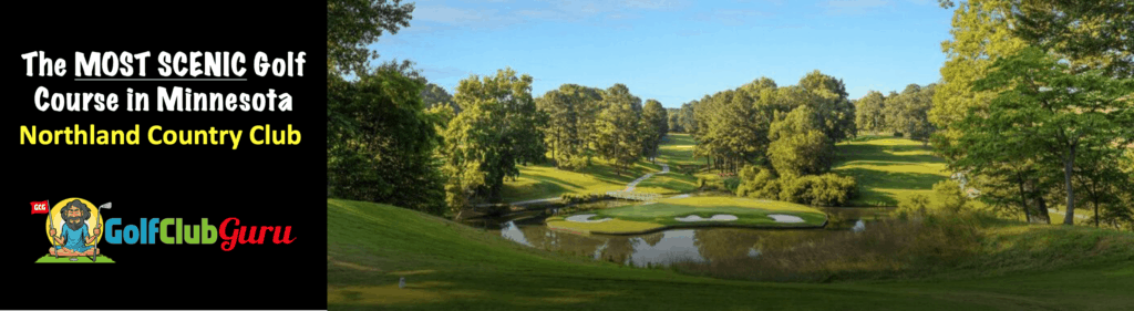 the most beautiful golf courses in Duluth MN