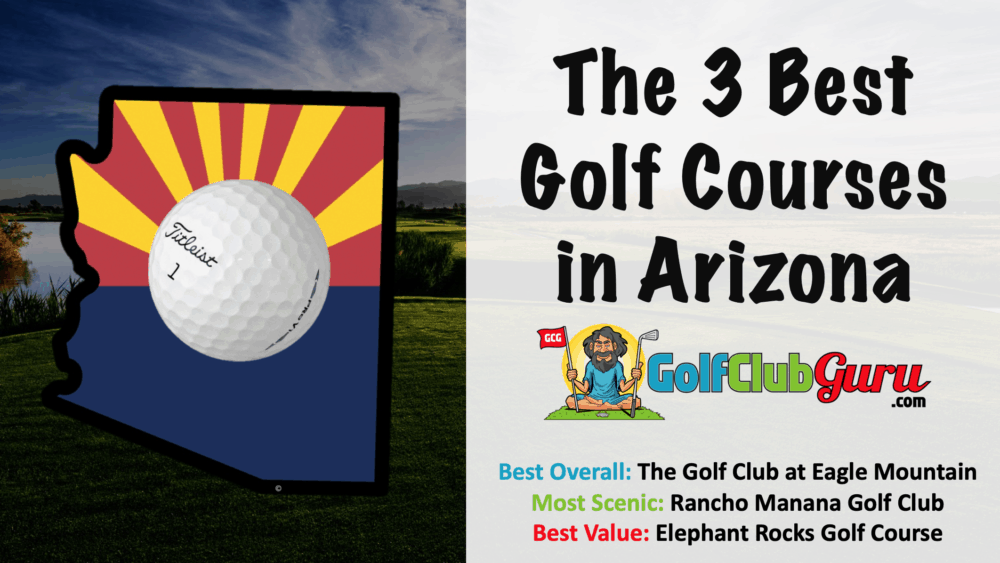 list of the best golf courses in arizona
