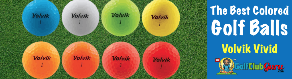 the golf ball in the most colors