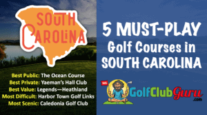 the best golf courses in south carolina public private