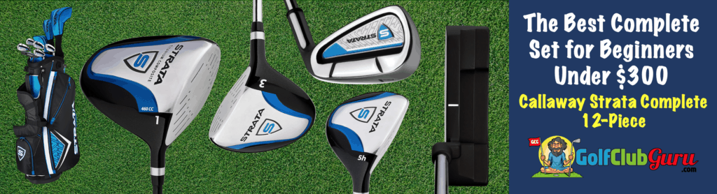 the best value complete set for beginner golfer strata complete 12 piece set