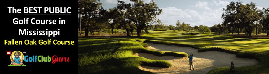 the best public golf course fallen oak golf course tee times