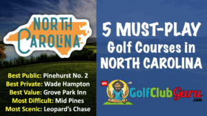 the best north carolina public golf courses to play