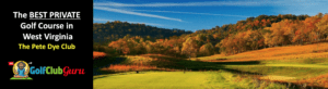 the best private golf club in west virginia